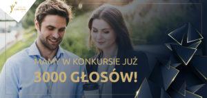 Po tygodniu mamy już 3000 głosów w konkursie Lider Zmian!